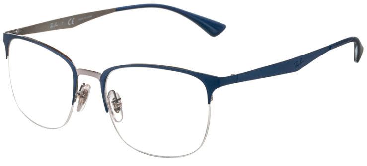 prescription-glasses-model-Ray-Ban-RB6433-Blue-45