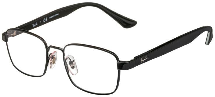 prescription-glasses-model-Ray-Ban-RB6445-Black-45
