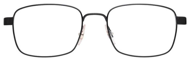 prescription-glasses-model-Ray-Ban-RB6445-Black-FRONT