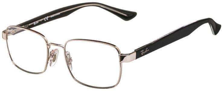 prescription-glasses-model-Ray-Ban-RB6445-Silver-45