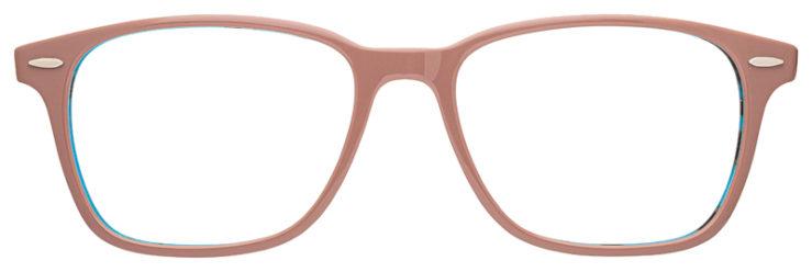 prescription-glasses-model-Ray-Ban-RB7119-Mauve-Blue-FRONT