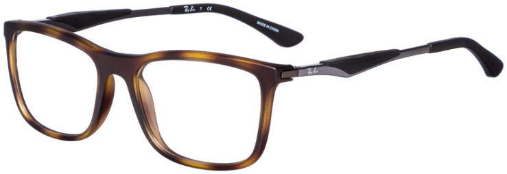 prescription-glasses-model-Ray-Ban-RB7029-Matte-Tortoise-45