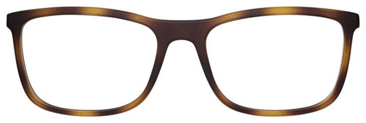 prescription-glasses-model-Ray-Ban-RB7029-Matte-Tortoise-FRONT