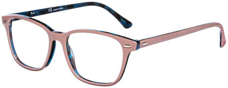 prescription-glasses-model-Ray-Ban-RB7119-Mauve-Blue-Tortoise-45