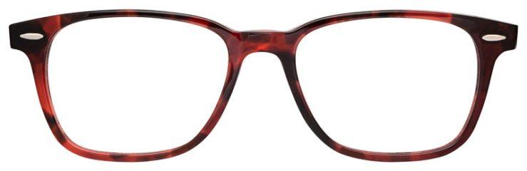 prescription-glasses-model-Ray-Ban-RB7119-Mauve-Blue-Tortoise-FRONT