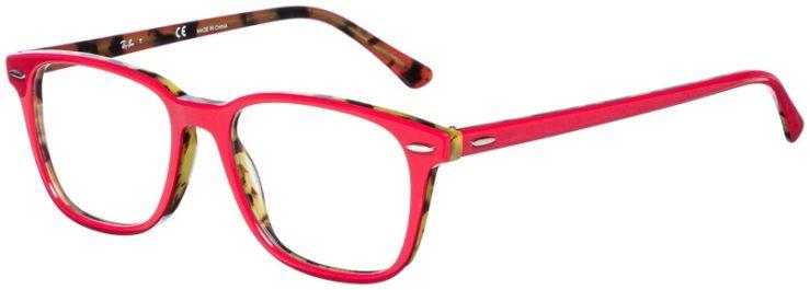 prescription-glasses-model-Ray-Ban-RB7119-Pink-Havana-Tortoise-45
