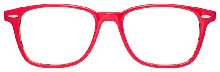 prescription-glasses-model-Ray-Ban-RB7119-Pink-Havana-Tortoise-FRONT