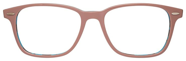prescription-glasses-model-Ray-Ban-RB7119-Pink-Tortoise-FRONT