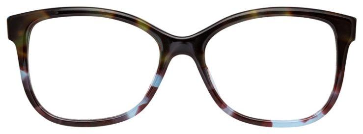 prescription-glasses-model-Burberry-BE2252-Havana-Green-Tortoise-FRONT