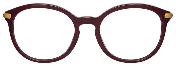prescription-glasses-model-Burberry-BE2264-Burgundy-FRONT