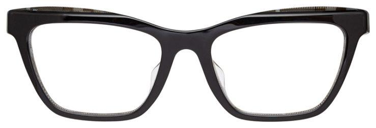 prescription-glasses-model-Burberry-BE2309F-Black-FRONT