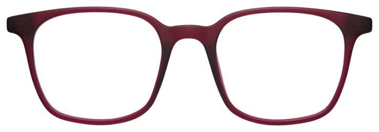 prescription-glasses-model-Nike-7124-Burgundy-FRONT