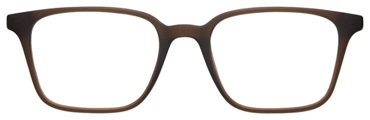 prescription-glasses-model-Nike-7126-Brown-FRONT
