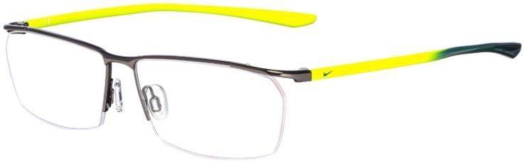 prescription-glasses-model-Nike-7918AF-Gunmetal-Yellow-45