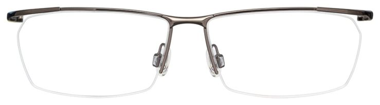 prescription-glasses-model-Nike-7918AF-Gunmetal-Yellow-FRONT