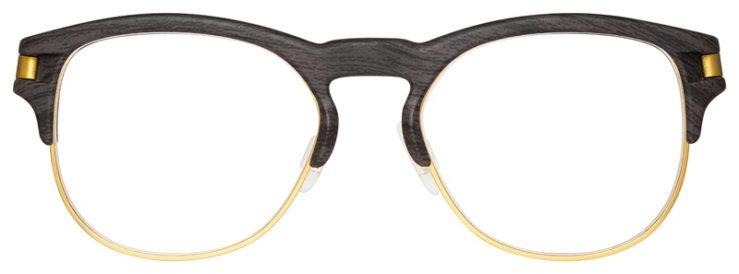 prescription-glasses-model-Oakley-Latch-Key-RX-Woodgrain-Gold-FRONT