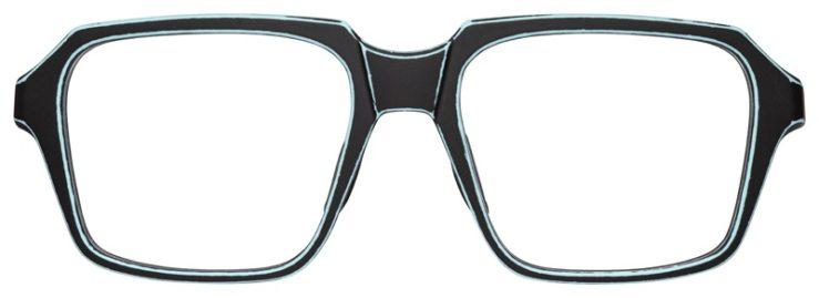 prescription-glasses-model-Oakley-Miter–Satin-Azura-Blue-FRONT