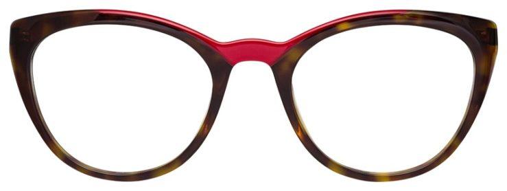 prescription-glasses-model-Prada-OPR-07VV-Havana-Tortoise-Red-FRONT