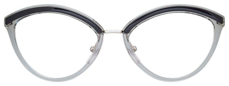 prescription-glasses-model-Prada-OPR-14UV-Clear-Blue-FRONT