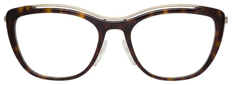 prescription-glasses-model-Prada-OPR-O4VV-Black-White-FRONT