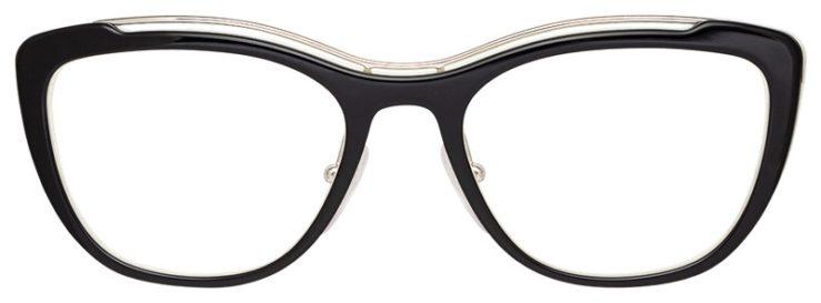 prescription-glasses-model-Prada-OPR-O4VV-Tortoise-FRONT