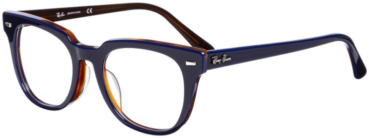 prescription-glasses-model-Ray-Ban-RB-5377F-Blue-45