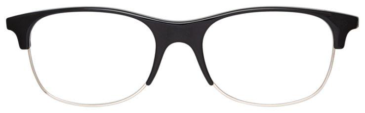 prescription-glasses-model-Ray-Ban-RB4319V-Black-FRONT