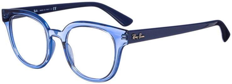 prescription-glasses-model-Ray-Ban-RB4324V-Clear-Blue-45