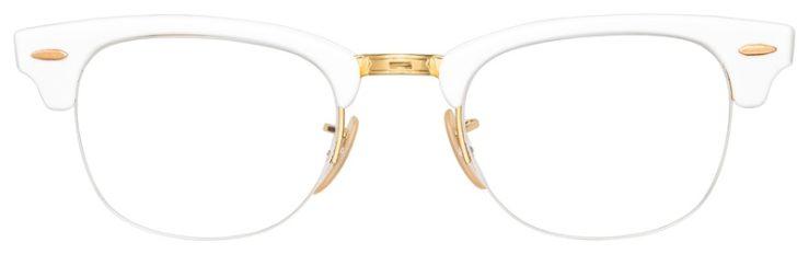 prescription-glasses-model-Ray-Ban-RB4354V-White-FRONT