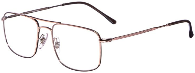 prescription-glasses-model-Ray-Ban-RB6434-Rose-Gold-45