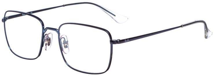 prescription-glasses-model-Ray-Ban-RB6437-Blue-45