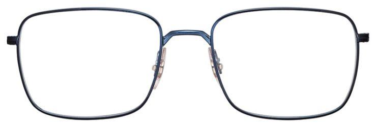 prescription-glasses-model-Ray-Ban-RB6437-Blue-FRONT