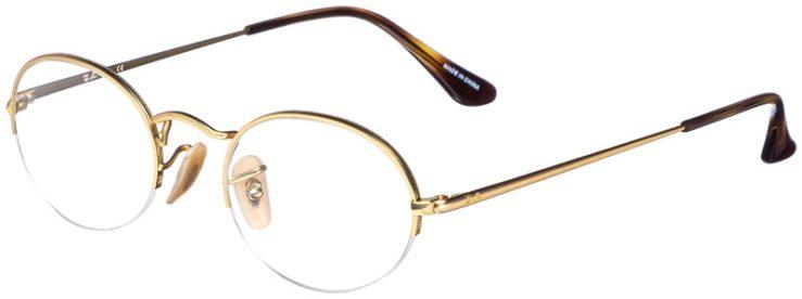 prescription-glasses-model-Ray-Ban-RB6547-Gold-45
