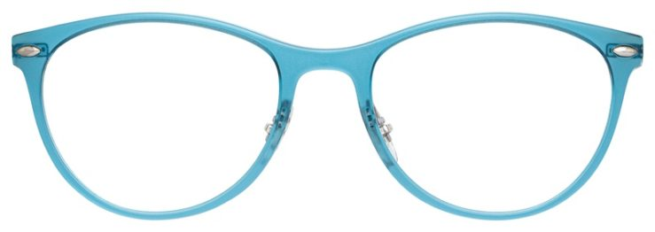prescription-glasses-model-Ray-Ban-RB7160-Teal-FRONT