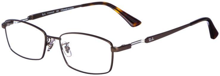prescription-glasses-model-Ray-Ban-RB8745D-Satin-Bronze-45