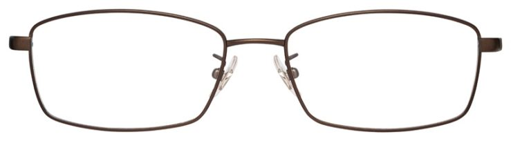 prescription-glasses-model-Ray-Ban-RB8745D-Satin-Bronze-FRONT