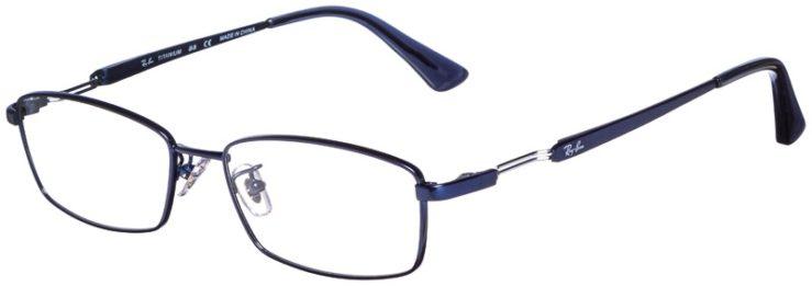 prescription-glasses-model-Ray-Ban-RB8745D-Satin-Navy-45