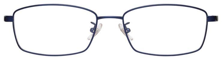 prescription-glasses-model-Ray-Ban-RB8745D-Satin-Navy-FRONT