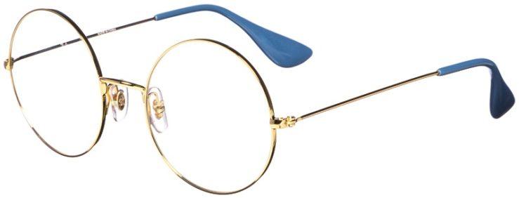 prescription-glasses-model-Ray-ban-RB6392-Gold-45