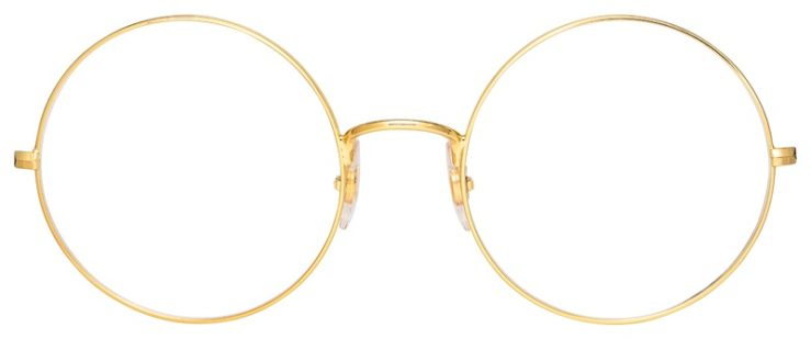 prescription-glasses-model-Ray-ban-RB6392-Gold-FRONT